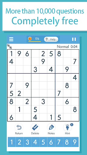 Sudoku‐A logic puzzle game ‐ apklade screenshots 1