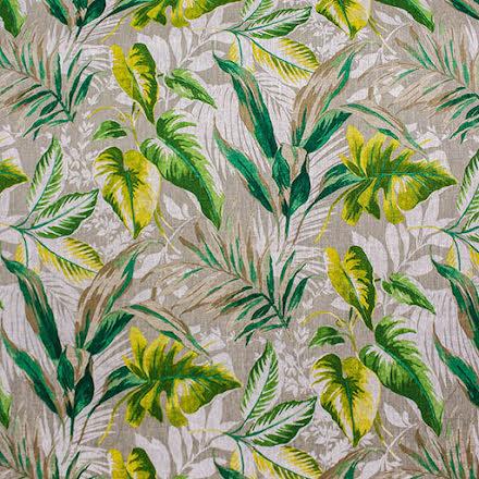 Linnetyg med gröna blad