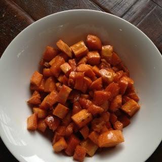 Roasted Maple-Glazed Sweet Potatoes