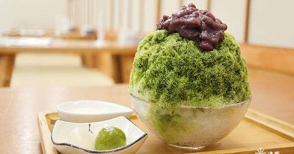 好想吃冰 かき氷中山赤峰店~坐在榻榻米上吃日式刨冰的享受,宇治金時抹茶刨冰、黑糖黃豆粉刨冰