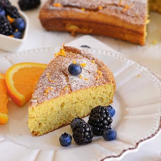 Paleo Orange Cake (Gluten, Dairy, Nut & Coconut Free).