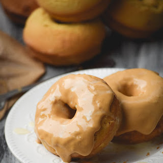 Tres Leche Doughnuts with Dulce de Leche Icing