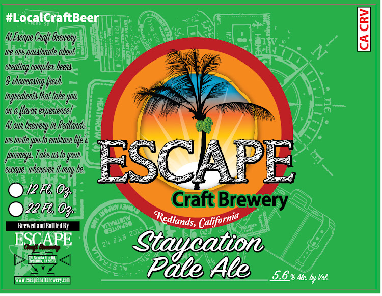 Logo of Escape Staycation Pale Ale