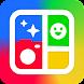 写真コラージュ & 写真加工 - Make Photo Grid - Androidアプリ
