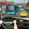 Coach Bus Racing Simulator - Mobile Bus Racing icon
