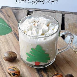 Chai Eggnog Latte.