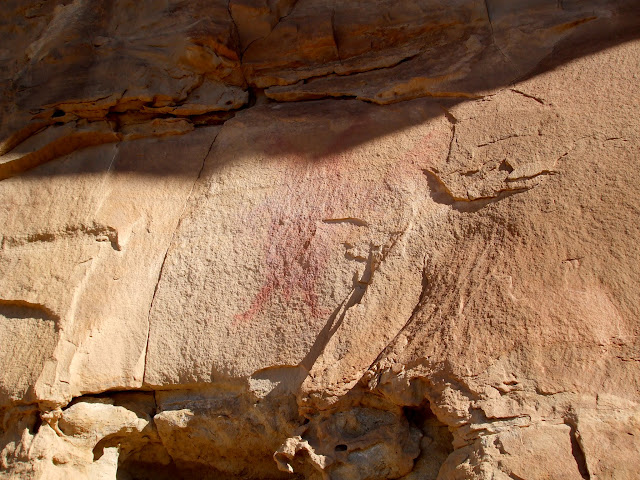 Fremont pictograph (2008 photo by Alan Peterson)