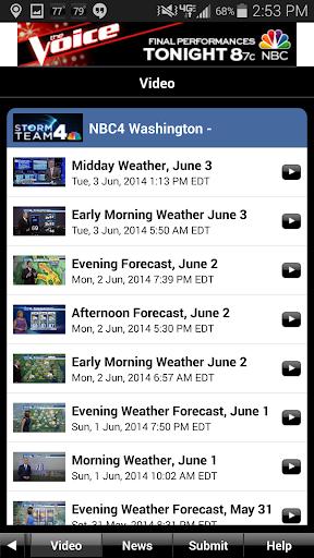 NBC4 Weather screenshot 4