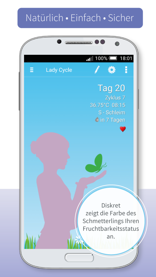 Lady Cycle – Screenshot