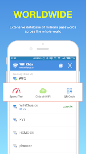 WiFi Chùa - Free WiFi passwords- screenshot thumbnail