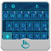 Magic Blue FREE Keyboard Theme