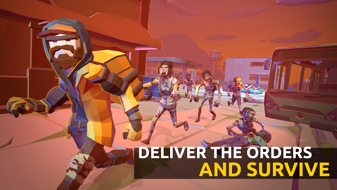 Delivery Z: Food Courier Simulator