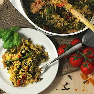 Turmeric and Clove Brown Rice PILAF   Easy Ways To use more Green Vegetables