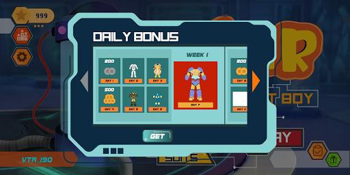Vir The Robot Boy Run screenshots 2