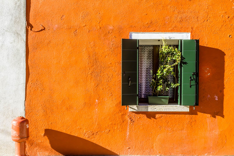 Burano arancione di fedevphoto
