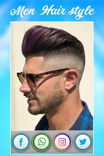 Man Hair Style Mustache Man Photo Editor Android Apps On - Cool hairstyle pictures