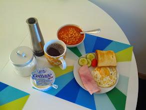 """Photo: Vzpomínková irská snídaně """"po našem"""" :)"""