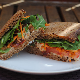 Hummus Sandwich Recipes.