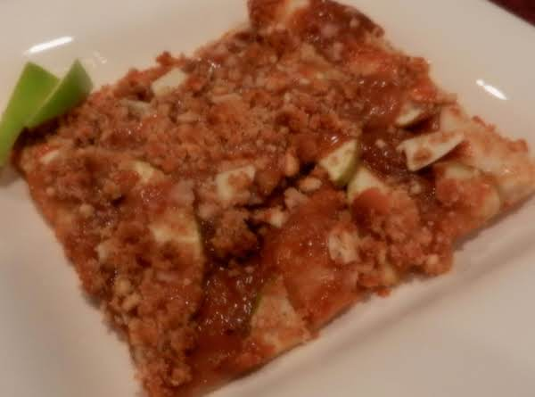 Toffee Apple Pizza Recipe