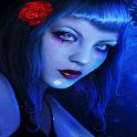 Beauty In Blue Live Wallpaper icon