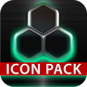 GLOW MINT icon pack HD 3D icon
