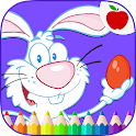 Easter Eggs Kids Coloring Game icon