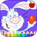 Easter Eggs Coloring Game Icon