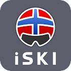 iSKI Norge - Ski, snow, resort info, Gps Tracker icon