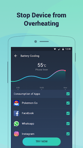 Battery Doctor-Battery Life Saver & Battery Cooler screenshot 5