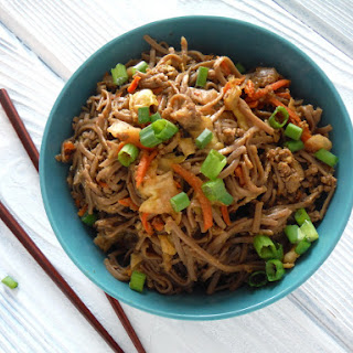 Hearty Asian Noodle Stir Fry