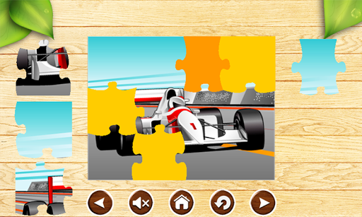 車の子供のためのジグソーパズル|玩解謎App免費|玩APPs