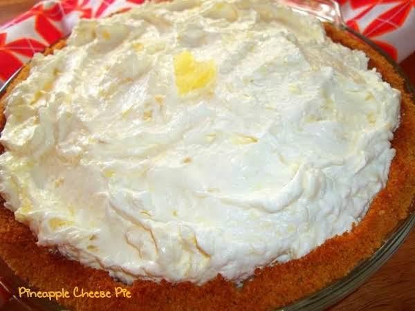 Pineapple Cheese Pie ~ Easy