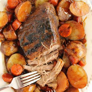 Slow Cooker Classic Beef Roast.