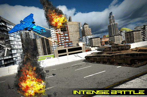 Transform Robot Action Game filehippodl screenshot 4