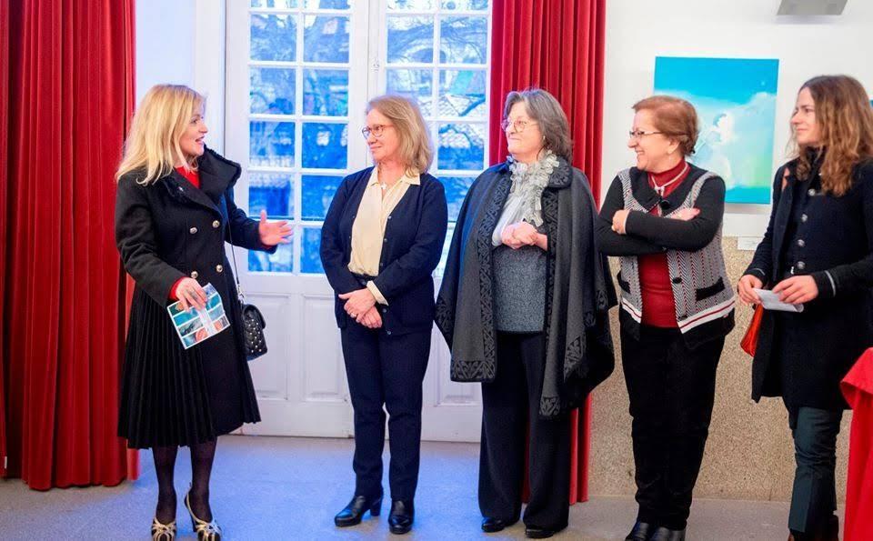 Exposição coletiva de pintura patente ao público no TRC