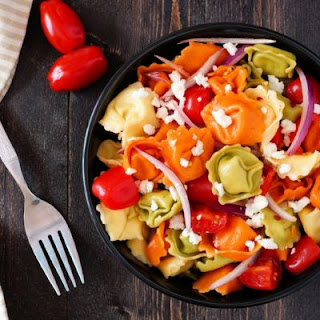 Tasty Cheese Tortellini Pasta Salad