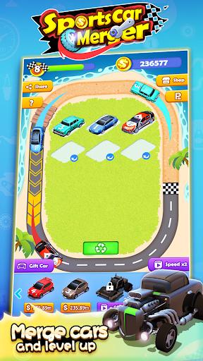 Sports Car Merger 2.5 screenshots 6