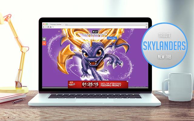 Skylanders Tribute New Tab