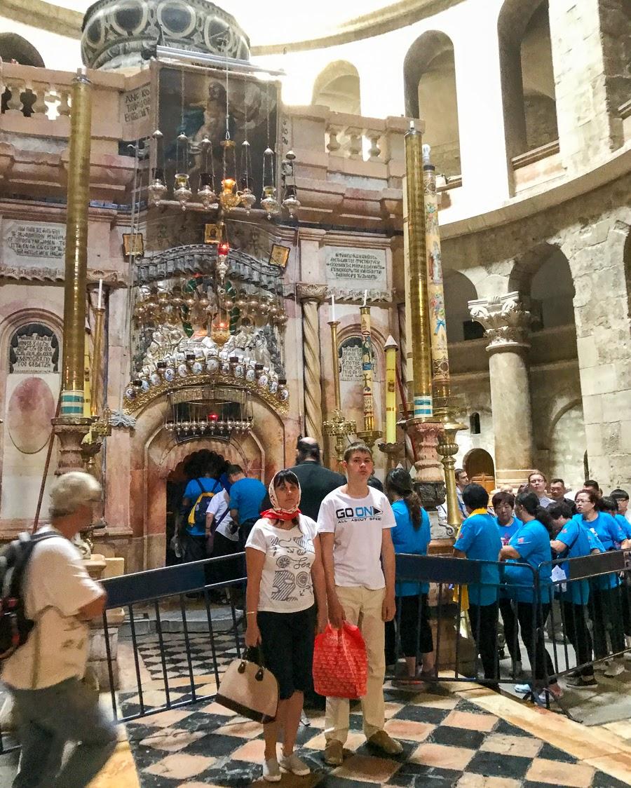Экскурсия в Храме Гроба Господня