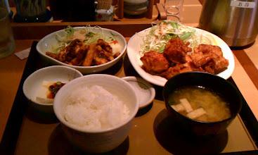 Photo: やよい軒にて(2012.2)