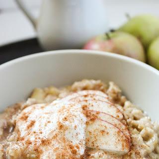 Maple Apple Oatmeal.