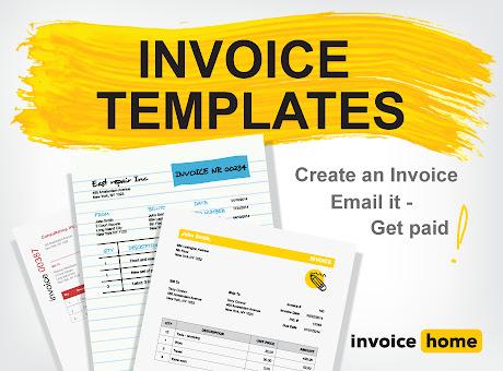 100 Free Invoice PDF Templates