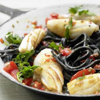Pasta With Calamari Garlic Recipes