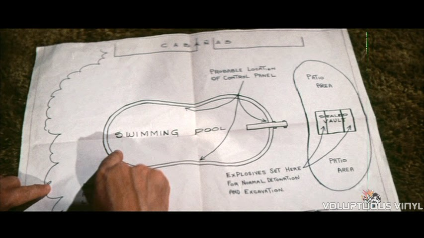 Amateur treasure map in the film Stoney.