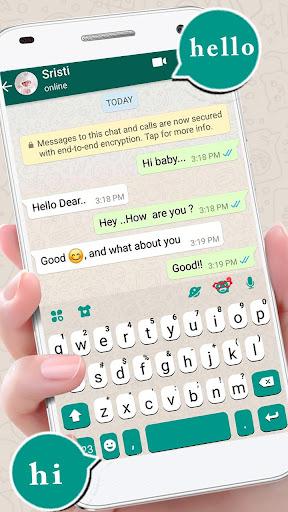 SMS Messenger Keyboard screenshots 1