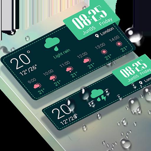 Weather & Clock Widget -Breeze