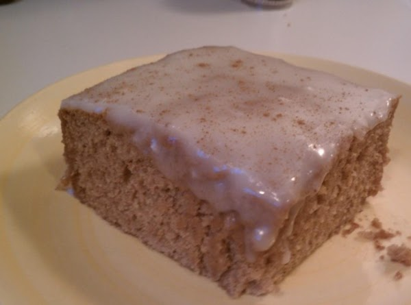 Applesauce Cake With Butter-rum Glaze Recipe