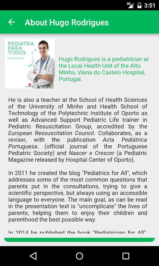 Pediatrics for all- screenshot