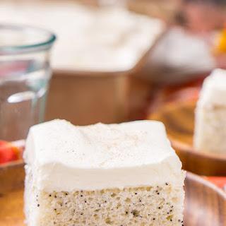 Almond Poppy Seed Cake.