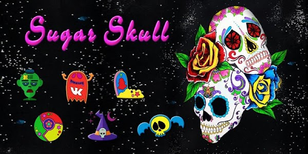 Sugar Skull Theme screenshot 3